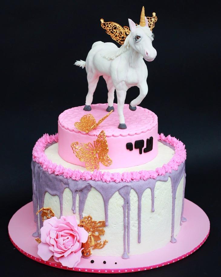 עוגת יוניקורן