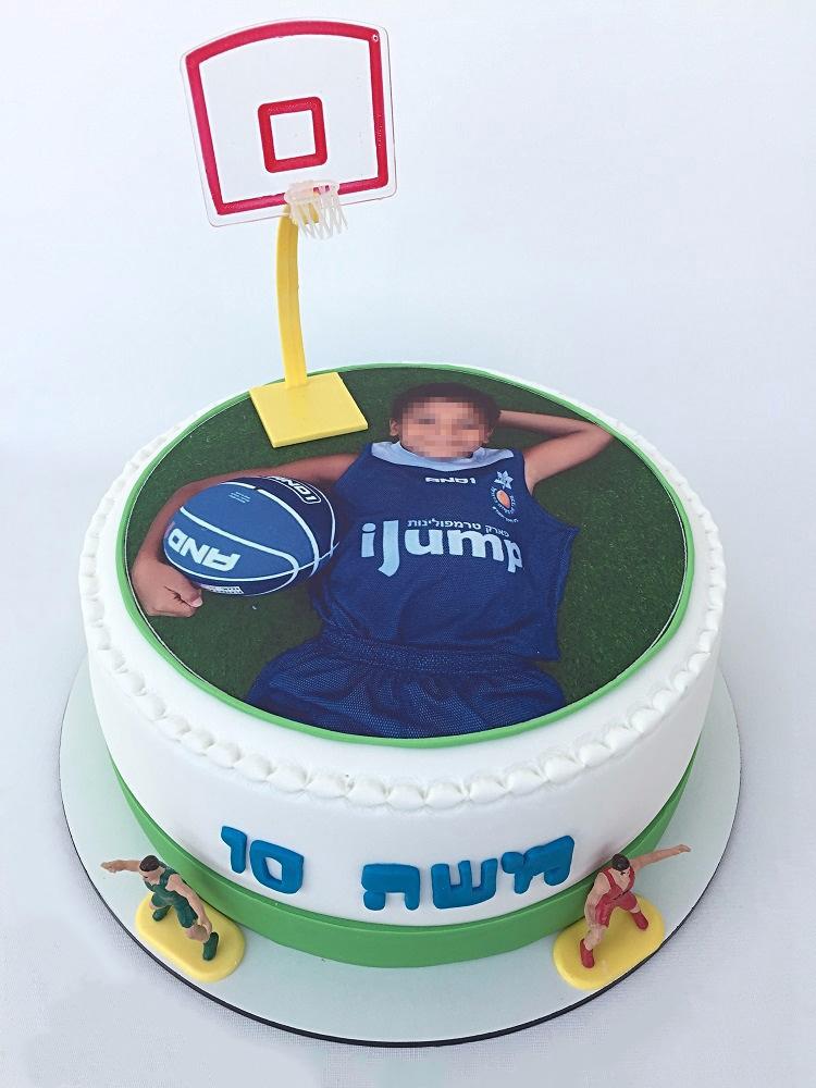 עוגת שחקן כדורסל