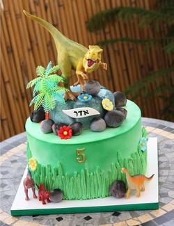 עוגת דינוזאור