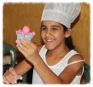 הפעלת בצק סוכר לילדים