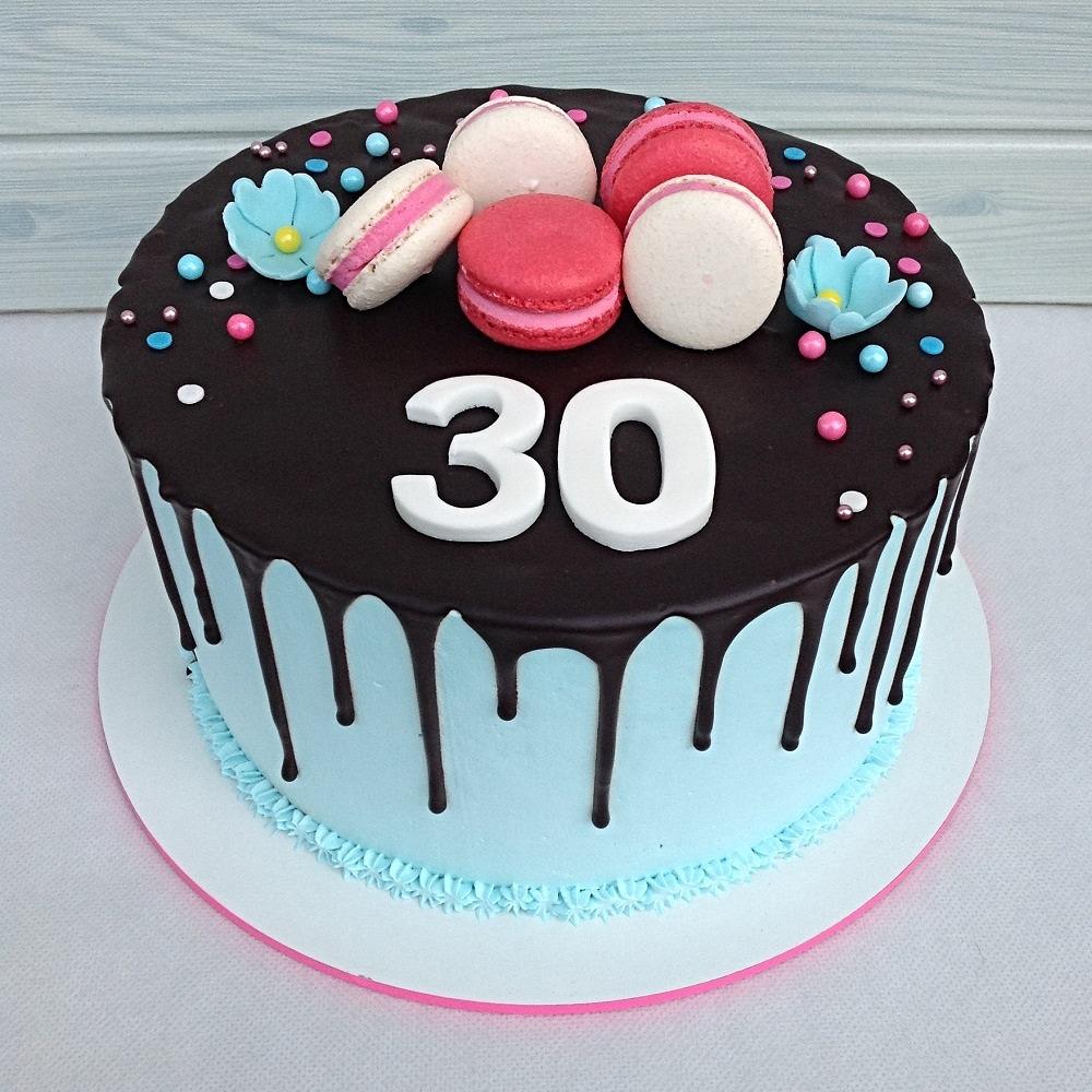 עוגת מקרונים