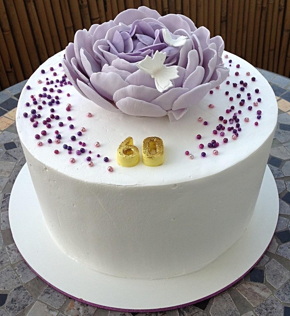 עוגת יומולדת 60