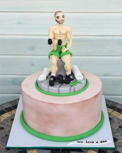 עוגה למתאמן