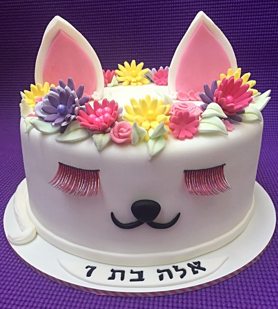 עוגת חתולה