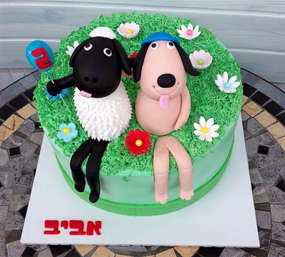 עוגת כבשה