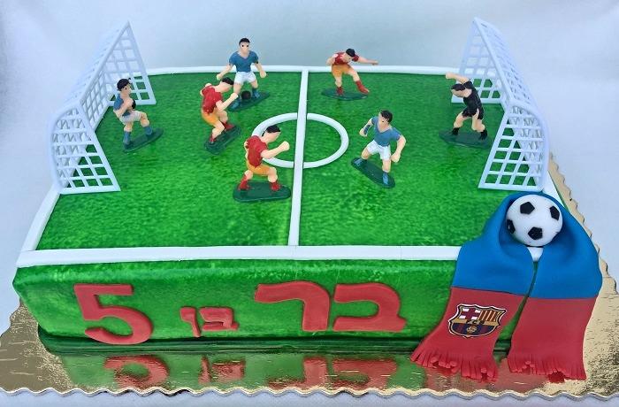 עוגת מגרש כדורגל