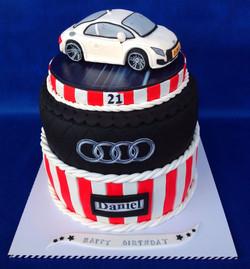 עוגת מכונית אאודי