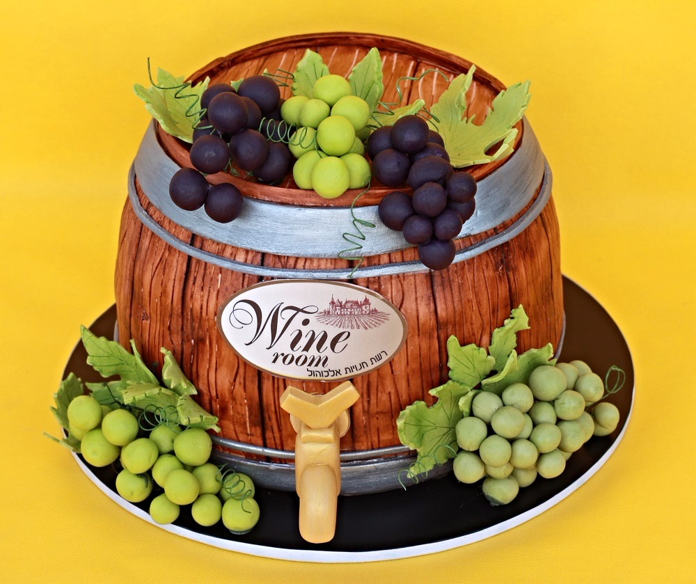 עוגת חבית יין