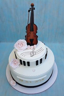 עוגת כינור