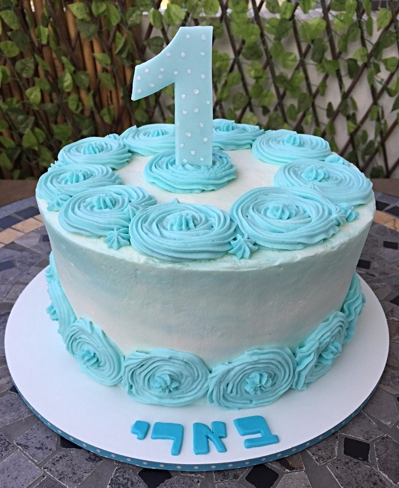 עוגה יום הולדת שנה