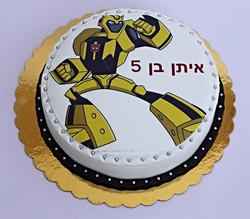 עוגת במבלבי רובוטריקים