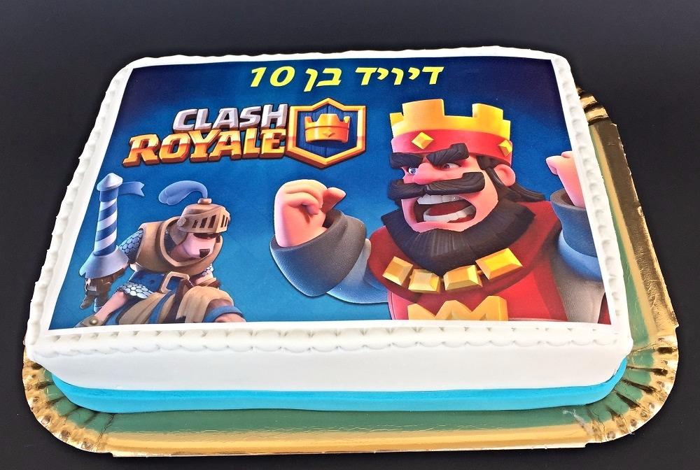 עוגת קלאש רויאל