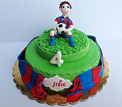 עוגת ברצלונה מסי