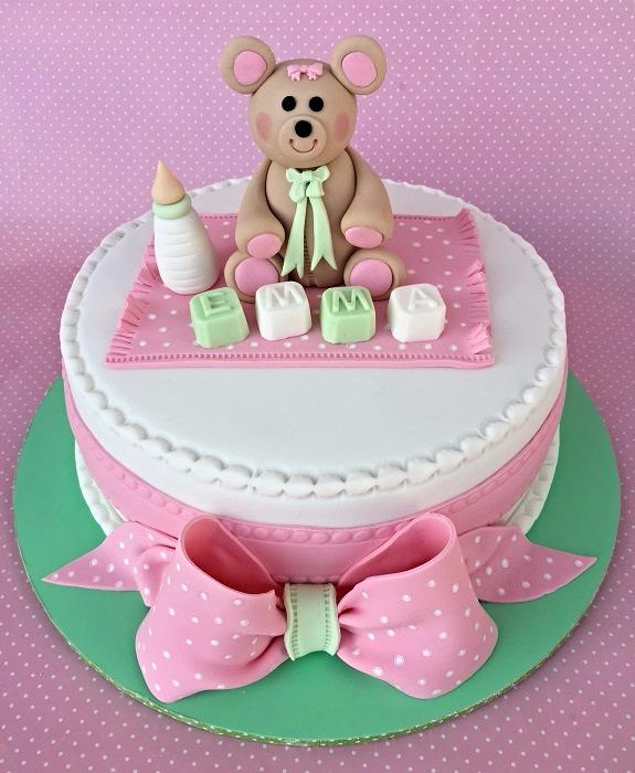 עוגת דובי לבנות
