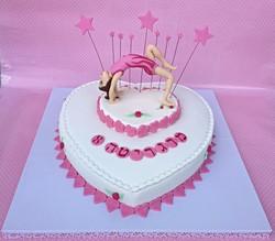 עוגת מתעמלת קרקע