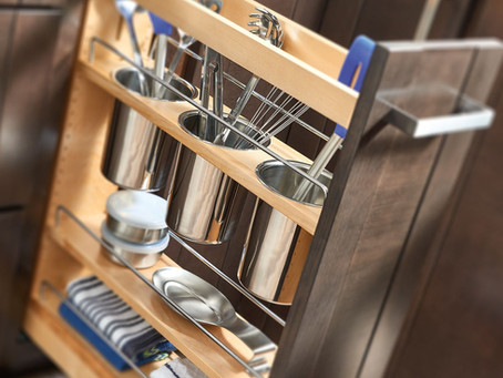 Pull-Out Storage During Your Next Kitchen Renovation