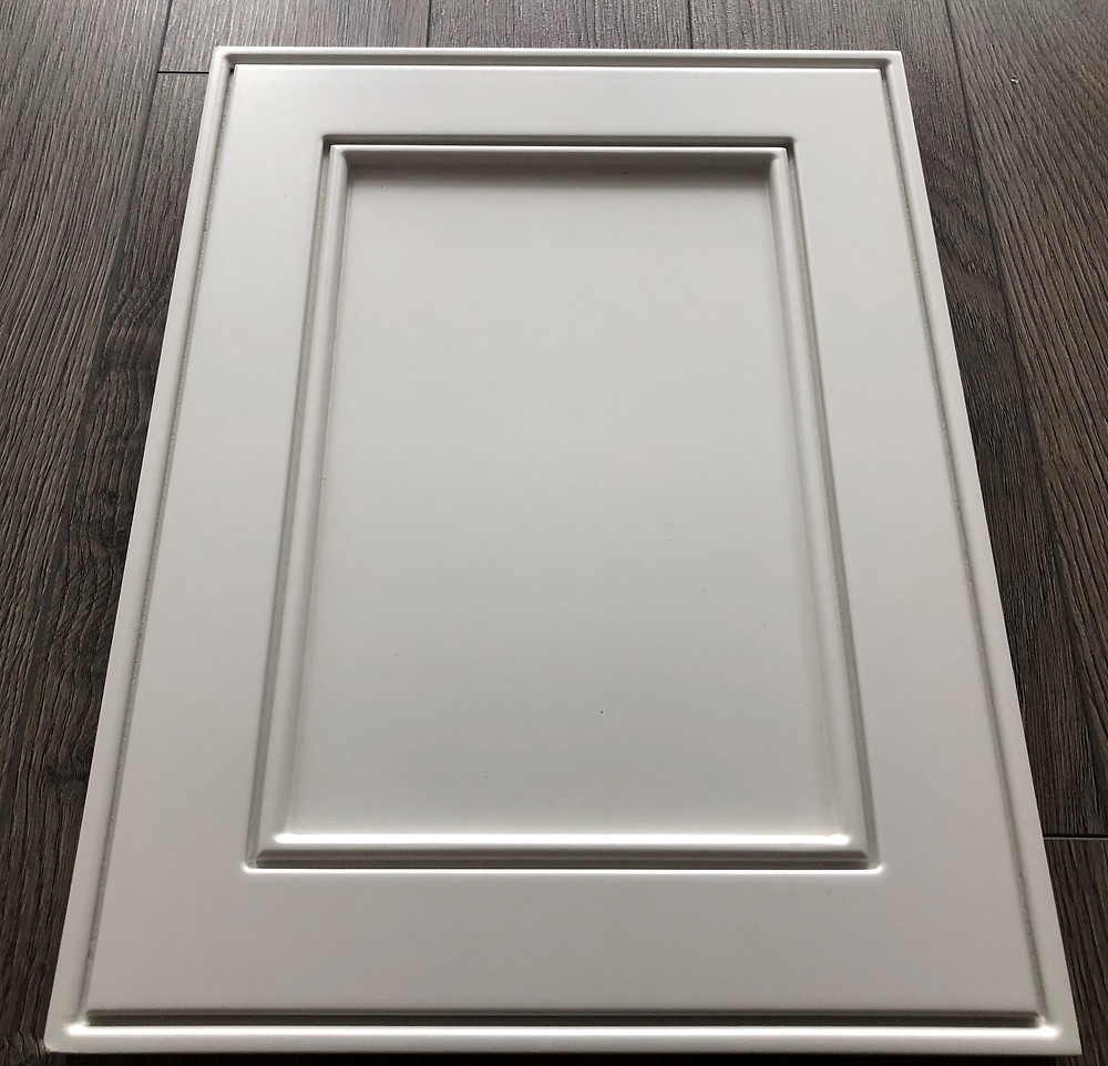 high-end custom kitchen - cabinets  MDF painted door