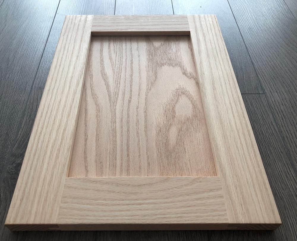 high-end custom kitchen - cabinets  oak door for custom cabinets