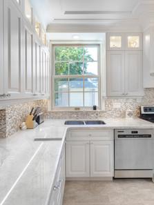 Beatiful  custom kitchen cabinets  with wood doors