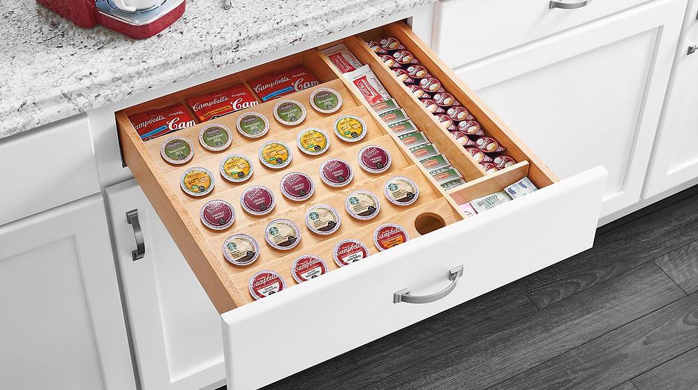 drawer organizer for kitchen cabinets