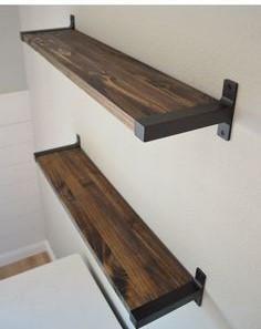wood custom kitchen cabinet shelves