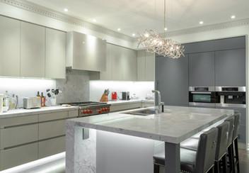 Kitchen renovation Toronto - matte kitchen
