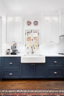 luxury kitchen renovation with custom kitchen cabinets