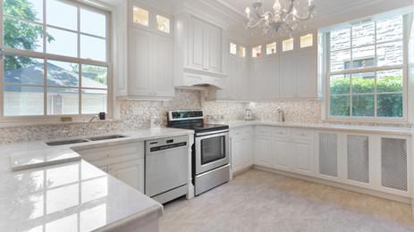 Transitional Custom Kitchen Cabinets