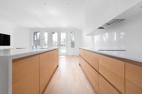 white oak kitchen cabinets