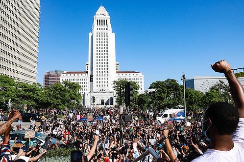 Black Lives Matter Protest, DTLA 2020