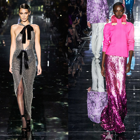 Tom Ford's Electric Pre-Oscars Weekend Runway Show