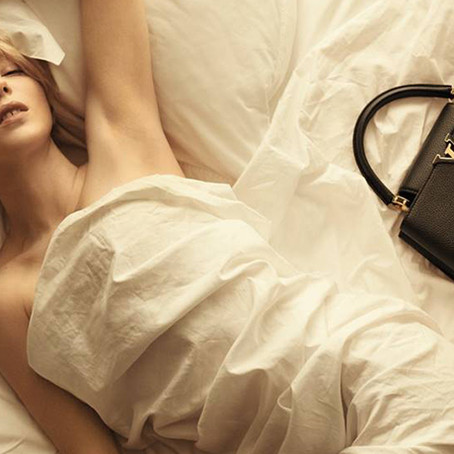 Louis Vuitton Launches Capucines Collection with Stunning Photos by Steven Meisel
