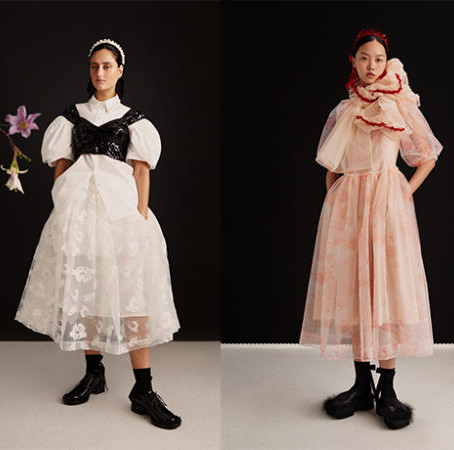 Check Out All The Looks from the Simone Rocha x H&M Collab