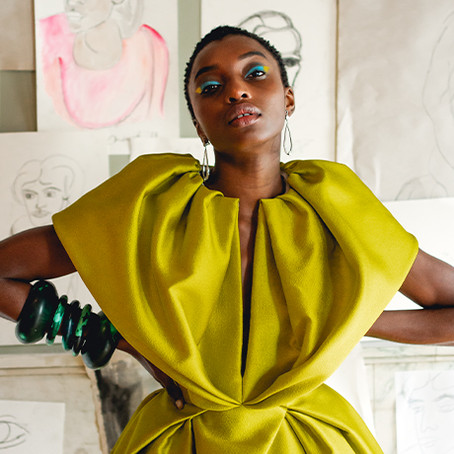 Bibhu Mohaphapatra's NYFW Collection is an Ode to Female Indian Artists who Challenged The Norm