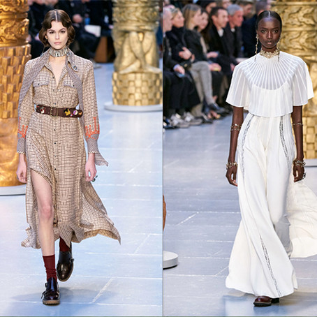Chloé Presents an Elegant and Effortless F/W2020 Runway