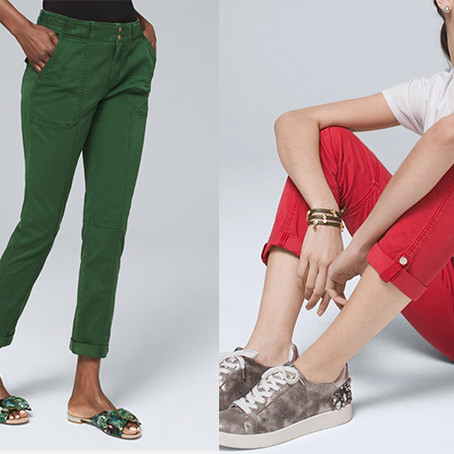WHBM Introduces the Must Have Pret-A-Pedi Pant Collection