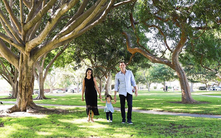 Cristina, Andrew & Baby Ella