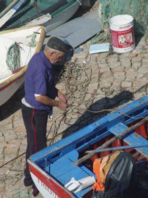 Local fisherman