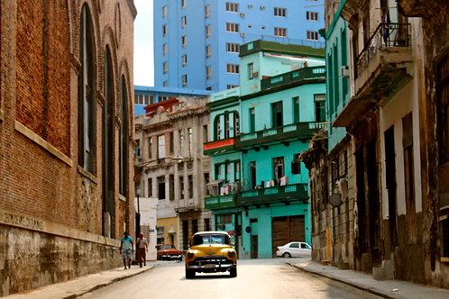 Taxicab in Havana, Cuba