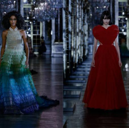 Dior's Dark & Divine Runway for Fall 2021
