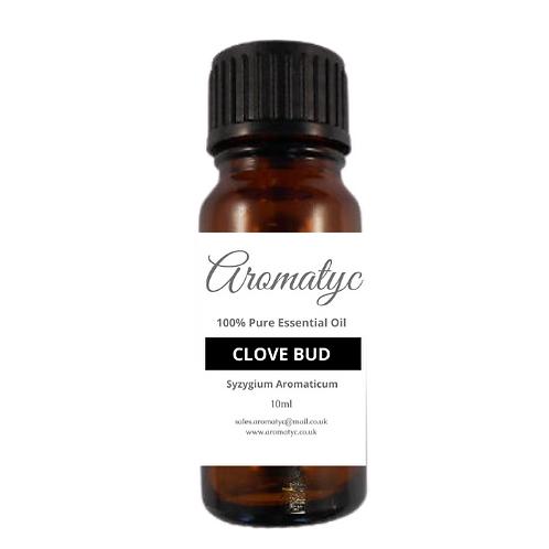 Clove Bud (Syzygium aromaticum) 100% Pure Essential Oil – 10ml