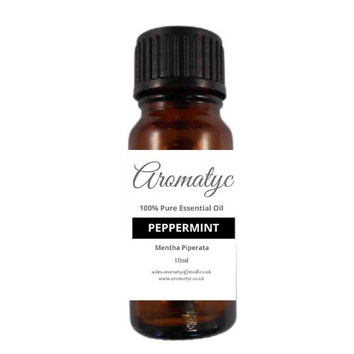 Peppermint (Mentha piperata) 100% Pure Essential Oil – 10ml