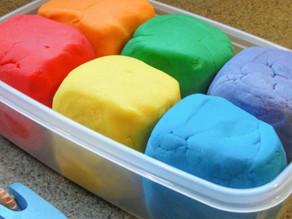 How to Make Aromatherapy Play Dough
