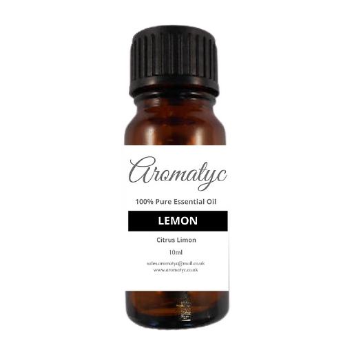 Lemon (Citrus limon) 100% Pure Essential Oil – 10ml
