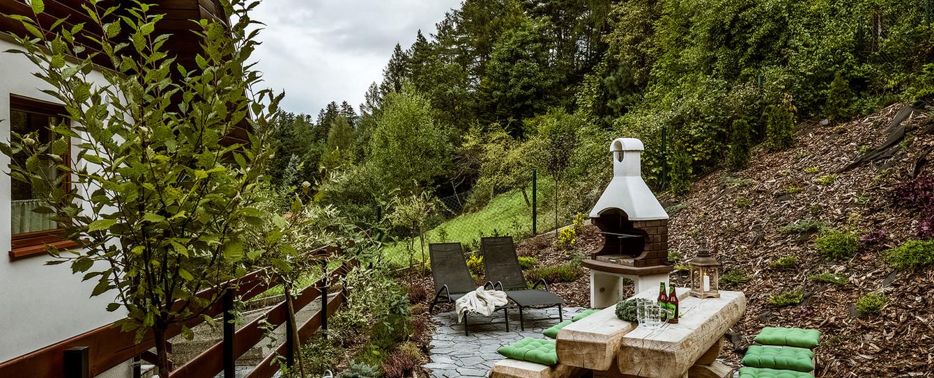 Tył domu - Ogród / Grill
