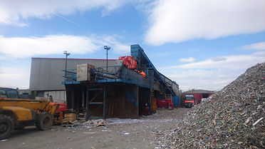Wastecycle Nottingham iFE Variomat double deck screen