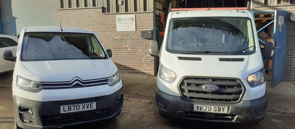 NEW FLEET OF COMMERCIAL VEHICLES