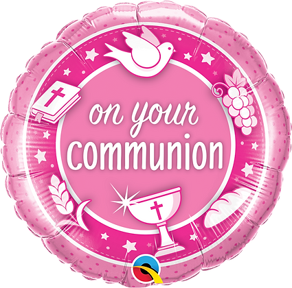 ON YOUR COMMUNION PINK
