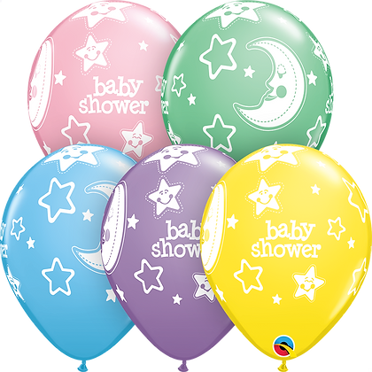 BABY SHOWER MOONS & STARS