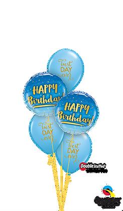 "Blue ""Best Day Ever"" Birthday"